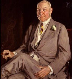 Lord Lonsdale cirka 1920. (Bild i allmän domän.)