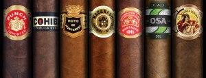 Ett urval från General Cigar.